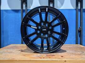 Velg Mobil Racing Baru Ring 15 Baut 4 HSR NOSHIRO R15 Lebar 6,5 Murah
