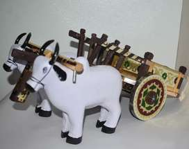 bull and cart very aggressive and most of the usefully
