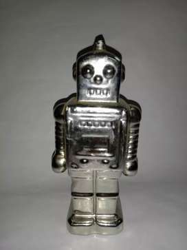 Robot shape ceramic coin bank for sale in cheap price