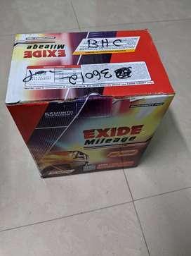 Unused Exide Car Battery