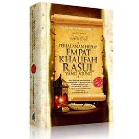Buku Perjalanan Hidup 4 Khalifah Rasulullah yang Agung