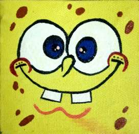 SPONGEBOB Miniature PAINTING