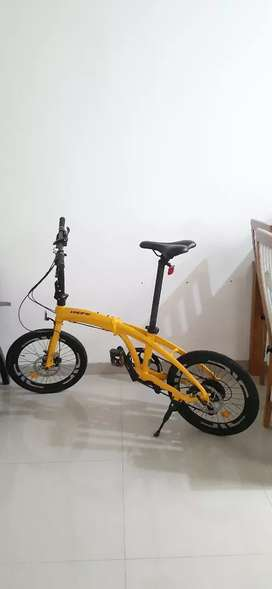 Sepeda Lipat Pacific Noris 3, Kuning