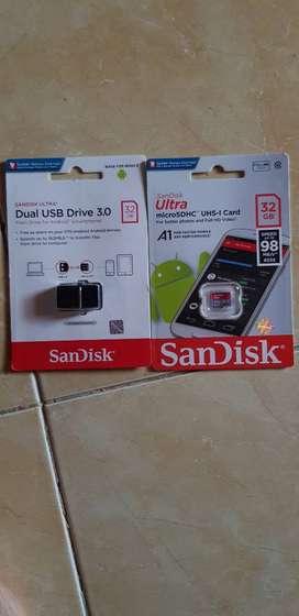 sandisk Micro SD dan USB OTG