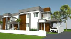 UP TO 90% HOME LOAN - 2 BED VILLAS @ OLAVAKKODE PALAKKAD