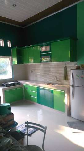 laci buffet kitchen set per meter keren murah DAP
