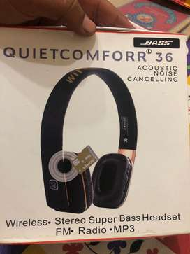Bass headphones with super sound quality