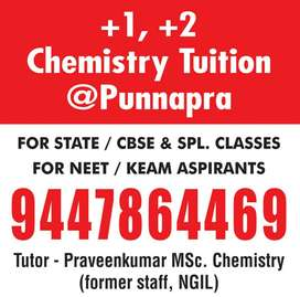 +1 ,+2 Chemistry Tuition@Punnapra