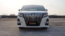 Toyota Alphard S 2.5 AT 2015 NEGO LOW KM Best Condition