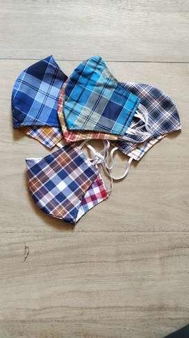 stylish 2 side washable cotton mask