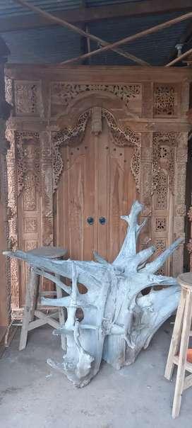 Pintu gebyok ukir lebar 2 meter risd dram