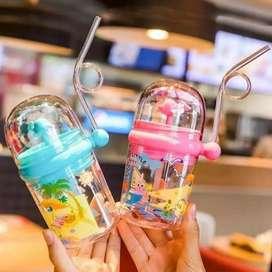Botol Minum Anak Air Mancur Lumba-Lumba BPA FREE 250ml BP-240