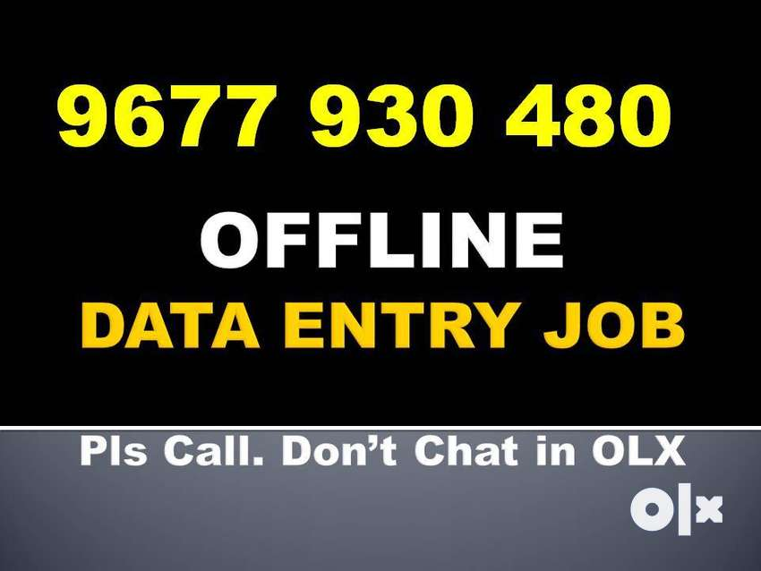 Get Your Salary Weekly By OFFLINE NOTEPAD Typing Jobz. Call 967793O48O 0
