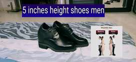 5 inches height increase shoes men