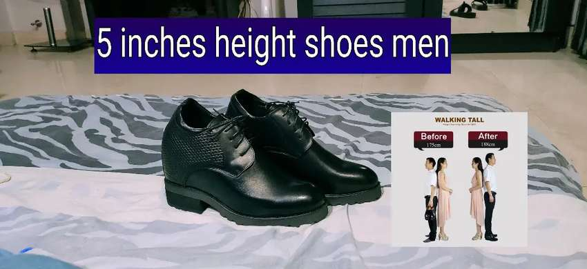 5 inches height increase shoes men 0