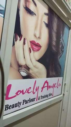Ladies beauty parlour & Spa.