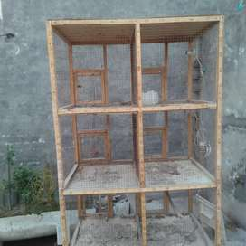 Parrot and hen cage for sale.