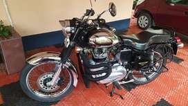 Sparingly used Royal Enfield machismo
