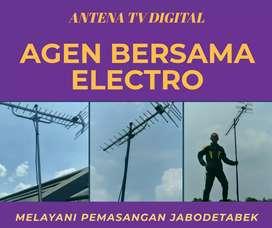 Teknisi jasa pasang antena tv lokal