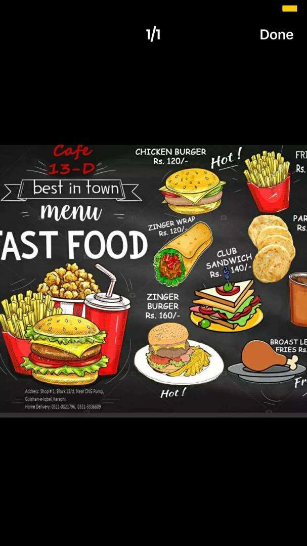Fastfood chef required on urgent basis 0