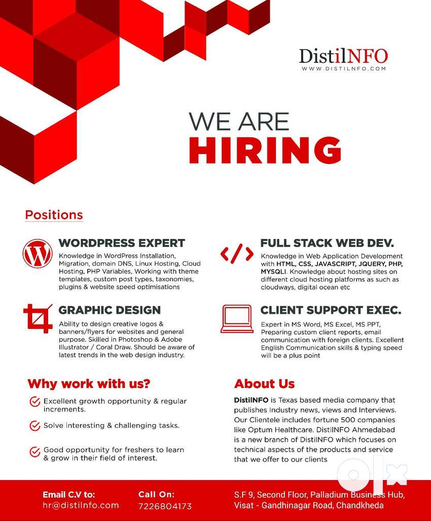 Web Developers, Graphic Designers & Backend Support 0