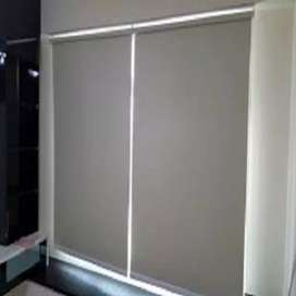Window blinds blackout fabric roller blind