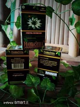Habbatussauda habbasyifa kapsul minyak isi 90 herbal kios madu kurma