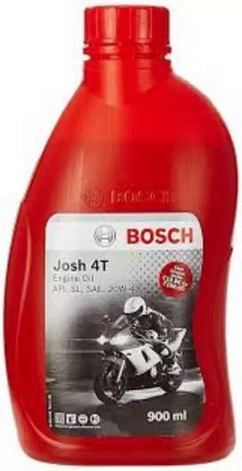 Engine oils available for bike
