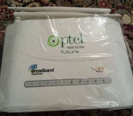 Long range ptcl modem + router in new condition