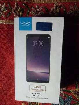 Vivo v7 plus like new phone