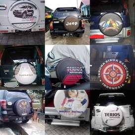 Cover/Sarung Ban Suzuki Vitara/Rush/Terios/Jeep katalog desain redi sa