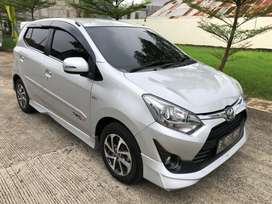 Toyota Agya TRD at 2018. Like new low KM