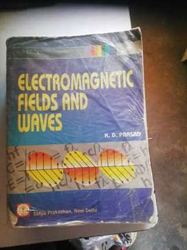 Electromagnetic field and waves,  K. D. PRASAD