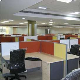 1300 SQFIT WELL MAINTAINED FURNISHED  OFFICE  IS AVAILABLE  IN THE 24/