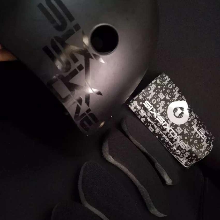 Helm sixsixone 661 dirt lid Mulus M sepeda sepeda seli bmx cfd dj 0