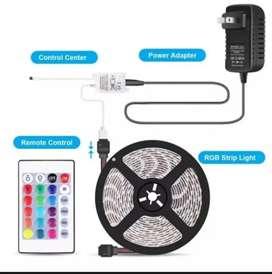 Lampu LED stripe RGB warna warni