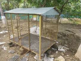 Dog's cage