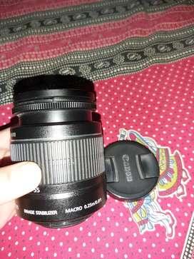 18-55 kit lens for cannon