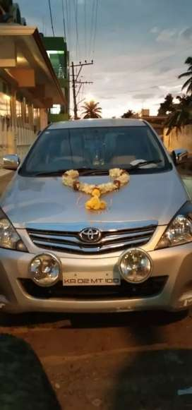 Own Innova 10years .exp pickup & drop mysore to Bangalore .