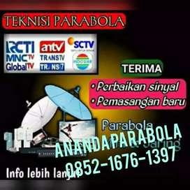 Service, setting antena tv digital dan Parabola digital