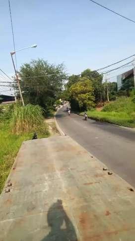 Tanah pinggir jalan cocok untuk pabrik atau gudang