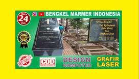 Batu Nisan Model TPU Jagakarsa Murah Minimalis Berkualitas Marmer OK