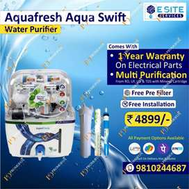 Summer dhamaka offer on AQUAFRESH ro water purifier