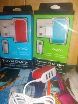 Charger branded 3 USB