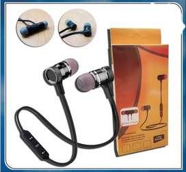 headset earphone handsfree JBL bluetooth magnetic Dengan mic