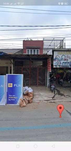 Disewakan Ruko 2 1/2 lantai di jalan raya Hankam Pondok Melati Bekasi