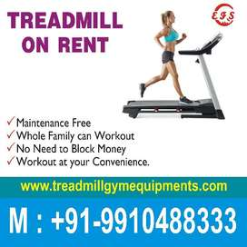 Treadmill on rent hire faridabad 99 10 4 88. 333