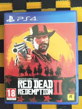 Ps4 Red dead Redemption 2 for exchange or sale