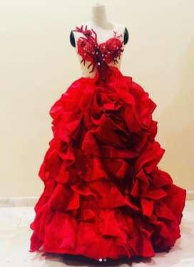 Cuci Gudang 12 Pcs Long Night Gown Murah Preloved Kain Bagus Grosir