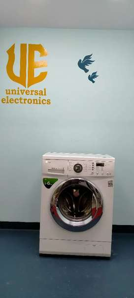 €$ ! Front load LG direct drive washing machine in best offers